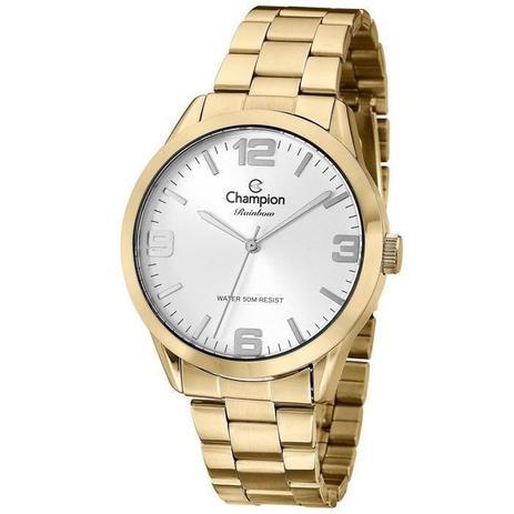 88492c690b1 Relógio Champion Feminino Analógico Dourado CN29892X - Relógio ...