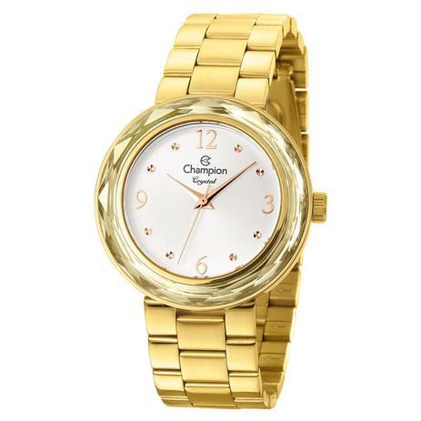 18613d8457f Relógio Champion Feminino Crystal - CN27134M - Magnum - Relógio ...