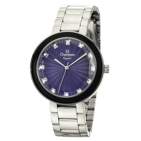 e121291b478 Relógio Champion Feminino Crystal - CN29972F - Magnum - Relógio ...