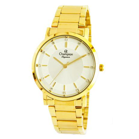 71ea811cdfe Relogio champion feminino dourado cn25627h - Relógio Feminino ...