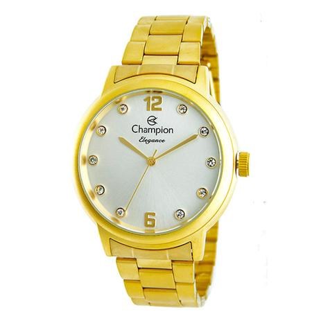 a61b5b92784 Relogio Champion Feminino Dourado CN28437H - Relógio Feminino ...