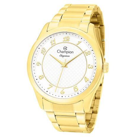 ab0300a53d1 Relógio Champion Feminino Elegance - CN27723H - Magnum - Relógio ...