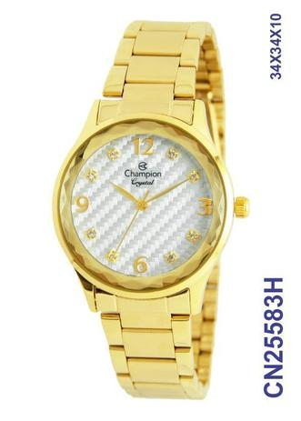1557e4898a4 Relógio Champion Feminino Original Cn25583h - Relógio Feminino ...