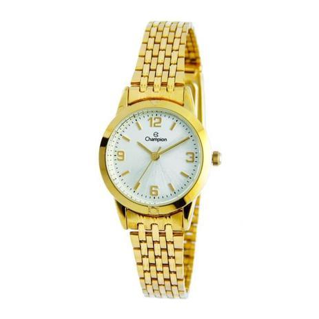 138d372d33a Relógio Champion Feminino Ref  Ch26775h Clássico Dourado - Relógio ...