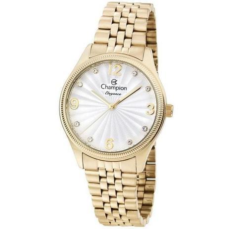 775446026 Relógio Champion Feminino Ref: Cn25789h Casual Dourado - Relógio ...