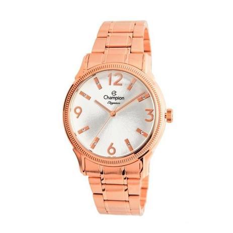 9bebcfab48b Relógio Champion Feminino Ref  Cn25832z Casual Rosé - Relógio ...