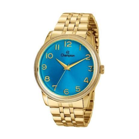 0813590c79f Relógio Champion Feminino Ref  Cn29490f Casual Dourado - Relógio ...