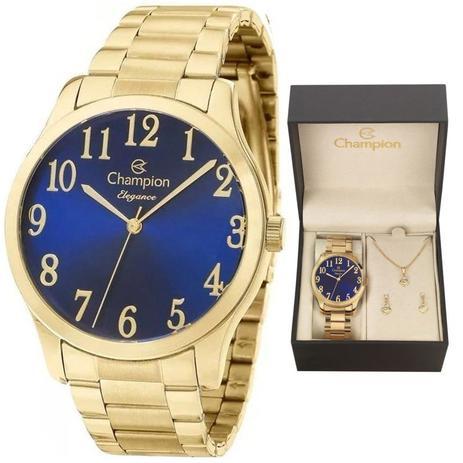 aa1cce5170d Relógio Champion Kit Feminino Cn26019k C garantia E Nf - Relógio ...