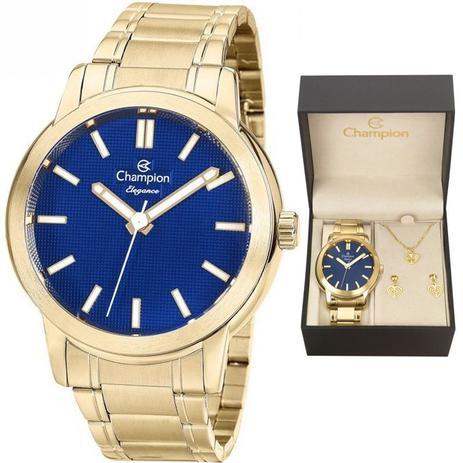 e9d0b3b700089 Relógio Champion Kit Feminino Cn27545k C garantia E Nf - Relógio ...