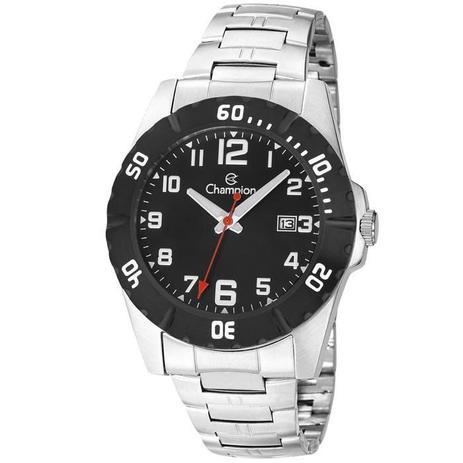 38561009a3c Relógio Champion Masculino Ref  Ca31300t Casual Prateado - Relógio ...