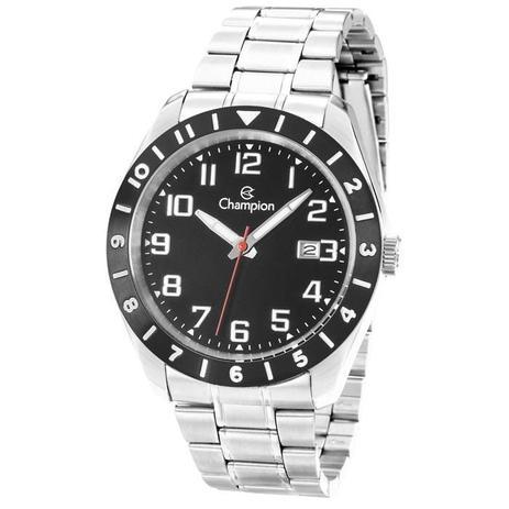 bf023ef6d1e Relógio Champion Masculino Ref  Ca31435t Casual Prateado - Relógio ...