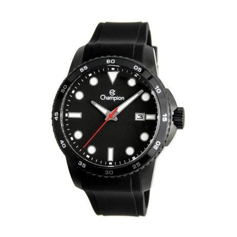 b5ce0a215d3 Relógio Champion Masculino Ref  Ca31686p Esportivo Black - Relógio ...