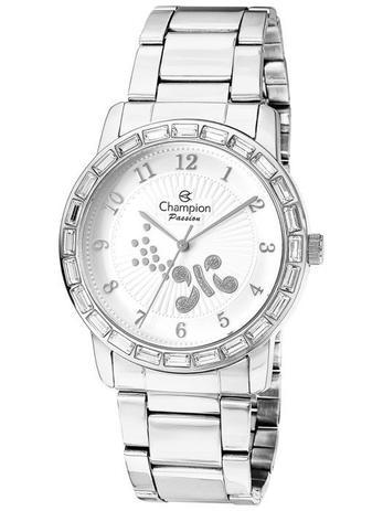 a8bb56efd7c Relógio Champion Passion Feminino Prata Brilho CN29356Q - Relógio ...