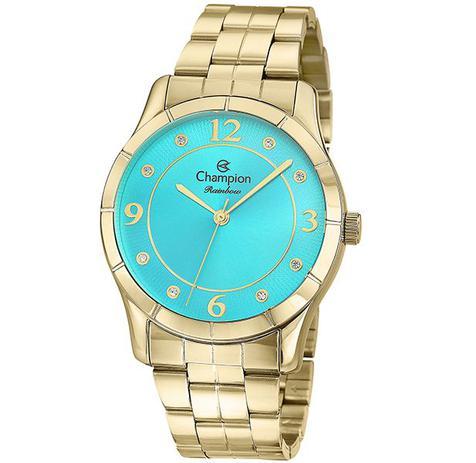 9593920a095 Relógio Champion Rainbow Feminino Azul CN29909O - Relógio Feminino ...
