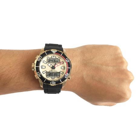 402e1967855 Relógio Citizen Aqualand Caixa de 46 MM Pulseira em Borracha ...