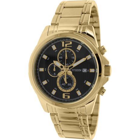 a233282357d Relógio Citizen Cronograph Analógico Dourado Masculino AN3552-50E - TZ30651U