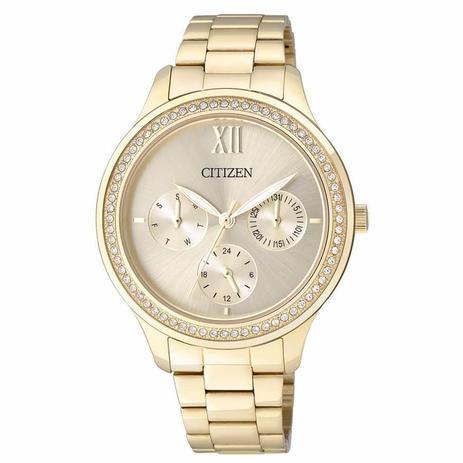 ac7a302e764 Relógio Citizen Feminino Ref  Tz28342g Multifunção Dourado - Relógio ...