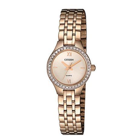 8c7e99f9616 Relógio Citizen Feminino Ref  Tz28539o Social Mini Rosé - Relógio ...