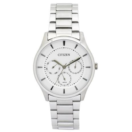 Relógio Citizen Masculino Ref  Tz20608q Slim Prateado - Relógio ... 82e4540576