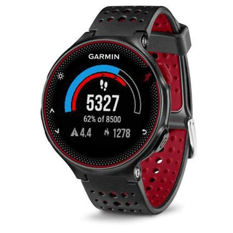 aec25b66c72 Relógio com Monitor Cardíaco Embutido Garmin Forerunner 235 Vermelho com  Bluetooth e GPS