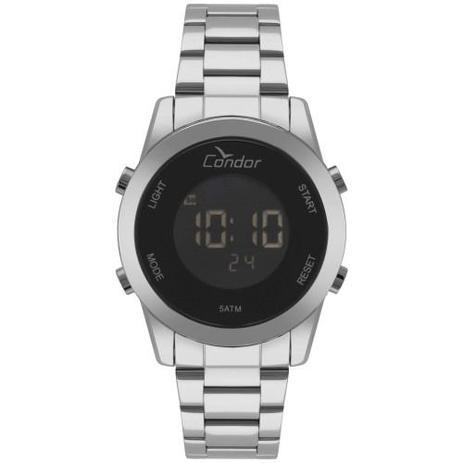 073c8a9381e Relógio Condor Feminino Bracelete Digital Prata COBJ3279AB 3P ...