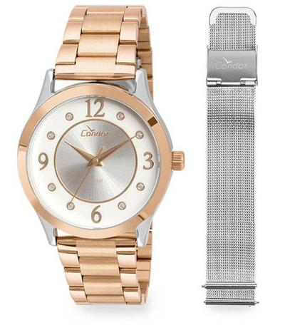 Relógio Condor Feminino CO2036KTV T5K Troca Pulseira - Relógio ... bbd66591d6