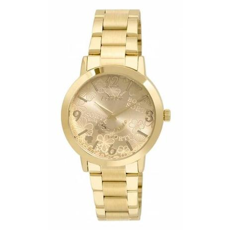 Relógio Condor Feminino Dourado - CO2035KUP-4D - Technos - Relógio ... e70eb92e94