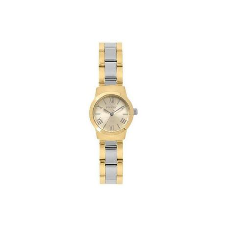 4b5a6617d67 Relógio Condor Feminino Dourado com Prata - CO2035KYT-5D - Technos ...