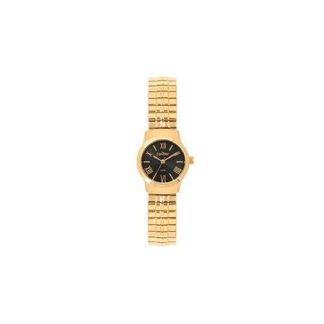 010b10aa4d3 Relógio Condor Feminino Dourado e Preto - CO2035KYW-4P - Technos ...