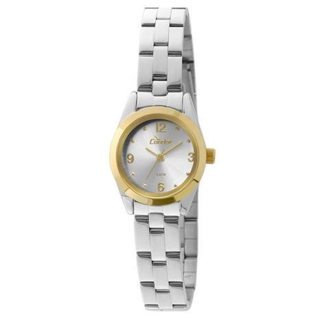 Relógio Condor Feminino Ref  Co2035kky 5k Mini Bicolor - Relógio ... e2b11f9ad9