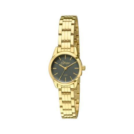 Relógio Condor Feminino Ref  Co2035kmx 4v Mini Dourado - Relógio ... e50d2be877