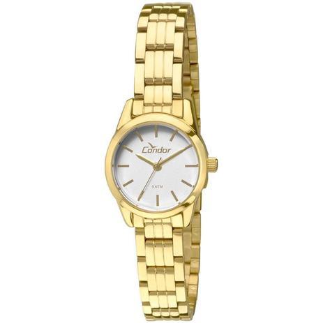 Relógio Condor Feminino Ref  Co2035kno 4c Eterna Mini Dourado ... dd8c8f7f1b