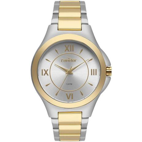 943cfea4f45 Relógio Condor Feminino Ref  Co2035kxv 5k Bicolor - Relógio Feminino ...