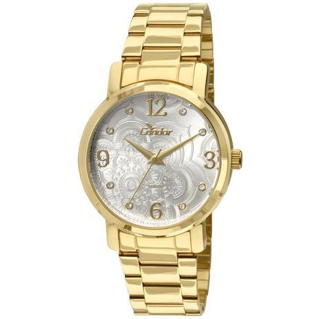 491e76b16f619 Relógio Condor Feminino Ref  Co2036co 4b Mandala Dourado - Relógio ...