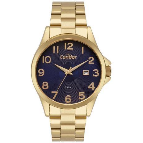 Relógio Condor Feminino Ref  Co2115ktt 4a Casual Dourado - Relógio ... b066d86d66