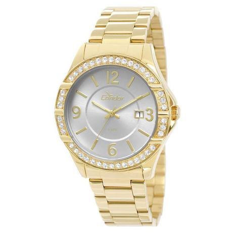 dbd95daec99 Relógio Condor Feminino Ref  Co2115tm 4k Casual Dourado - Relógio ...