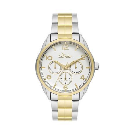 db2071a44c8 Relógio Condor Feminino Ref  Co6p29ig 5k Multifunção Bicolor ...