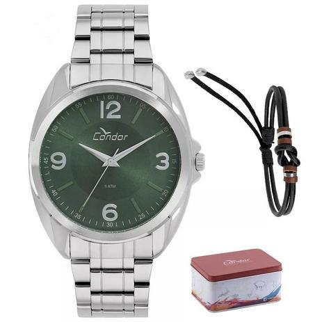 87dcfc77d37 Relógio Condor Kit Masculino Co2035kvh k3v