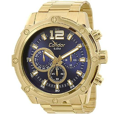 9dda4e66d0c Relógio Condor Masculino Civic Dourado COVD54AE 4A - Relógio ...