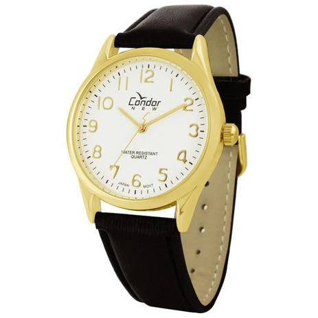 4aca54de151 Relógio Condor Masculino Ref  Co2035aa 2b Clássico Dourado - Relógio ...