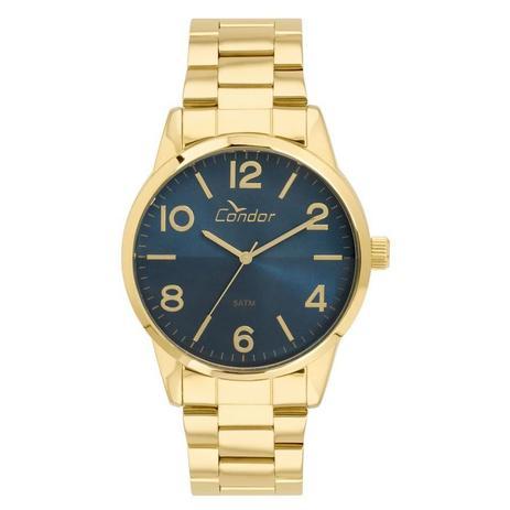 929d01426a1 Relógio Condor Masculino Ref  Co2035kvb 4a Casual Dourado - Relógio ...