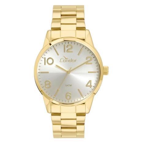 a1f1a0da981 Relógio Condor Masculino Ref  Co2035kvb 4k Casual Dourado - Relógio ...