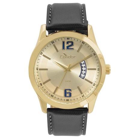 b7b206cf72c Relógio Condor Masculino Ref  Co2115ksx 2d Casual Dourado - Relógio ...