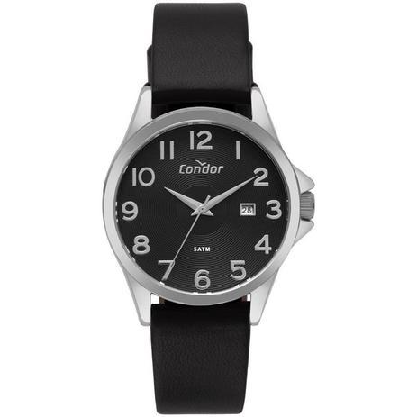 398d4dcd652 Relógio Condor Masculino Ref  Co2115ktu 3p Casual Prata - Relógio ...