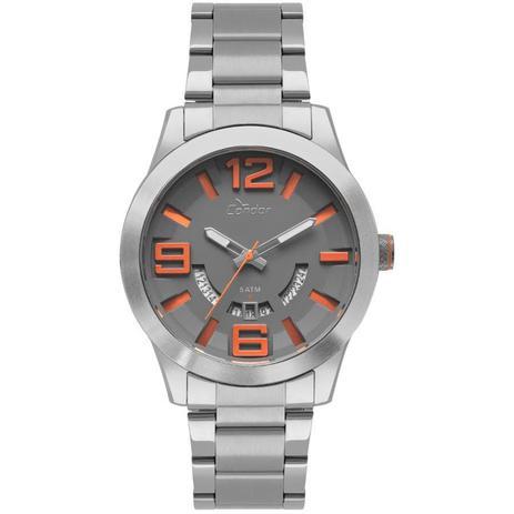 d3a6ecafb0 Relógio Condor Masculino Ref  Co2115ktx 3c Speed Prata - Relógio ...