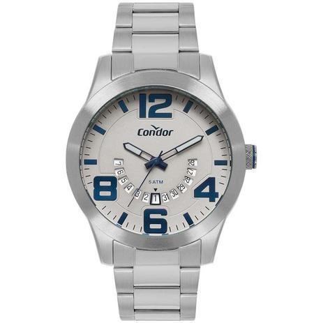 1079ed560a Relógio Condor Masculino Ref  Co2115kug 3c Casual Prata - Relógio ...