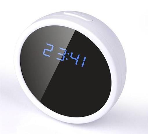 c69491d6941 Relógio de Mesa com Micro Câmera de Filmagem Espiã e Sensor De Movimento  Wifi 32GB - Empório forte