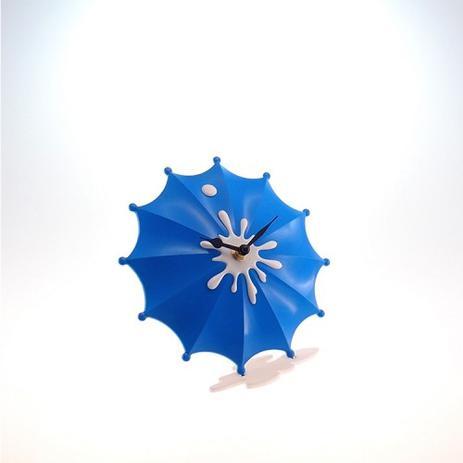 1b1f1282ea5 Relógio De Mesa Guarda Chuva Azul Plástico 15x15 Cm - Maisaz ...