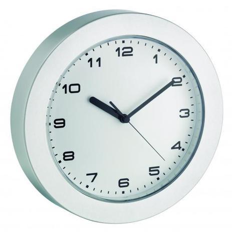 Imagem de Relógio de parede Alemão Prata