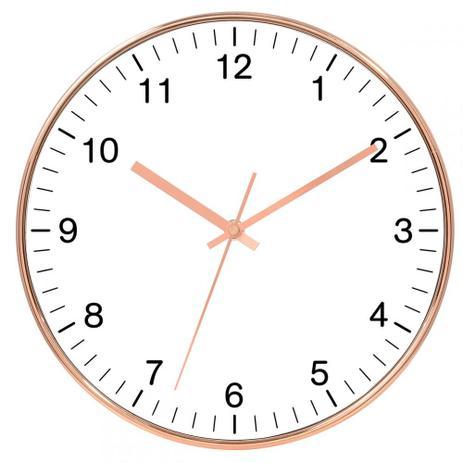 Imagem de Relógio de parede cobre 25 cm
